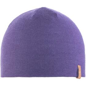 Giesswein Dachstein Bonnet en maille tricotée Enfant, purple